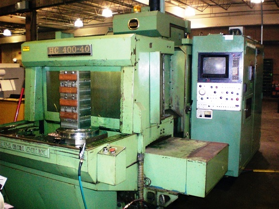 Hitachi Seiki HC 400 Horizontal Machining Center